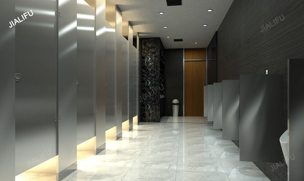 Metal Toilet Partitions Metal Honeycomb Toilet Partitions Compact - Steel bathroom partitions
