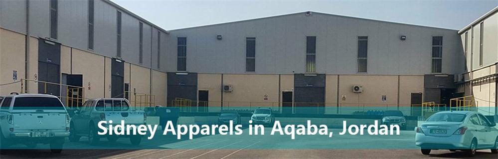 Project for Sidney Apparels Factory in Aqaba, Jordan